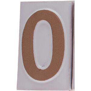 """Házszám """"0"""" 9cm"""
