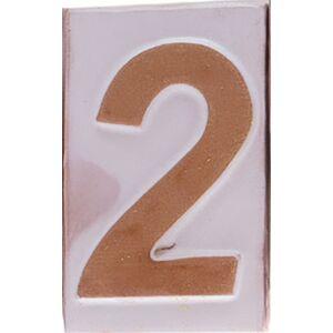 """Házszám """"2"""" 9cm"""
