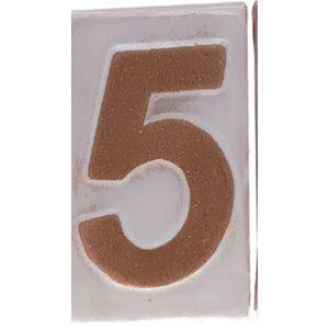"""Házszám """"5"""" 9cm"""