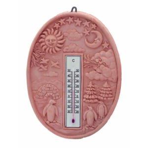 Hőmérő Ovális 24cm
