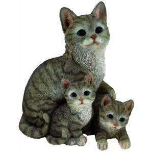 Cica család 19cm