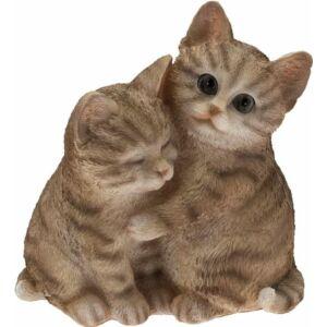 Szerelmes cicák 21cm