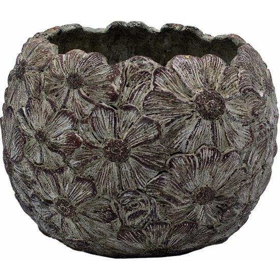 Kaspó gömb Fiore 18cm